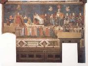 Ambrogio Lorenzetti Allegory of Good Governmert (mk08) oil painting picture wholesale