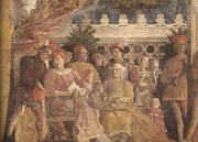 Andrea Mantegna The Gonzaga Family and Retinue finished (mk080 oil painting picture wholesale
