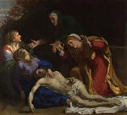 Annibale Carracci The Lamentation of Christ (mk08) oil