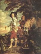 Anthony Van Dyck Charles I King of England Hunting (mk05) oil