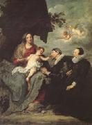 Anthony Van Dyck The Virgin and Child with Donors (mk05) oil
