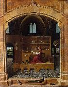 Antonello da Messina St Jerome in His Study (mk08) oil painting picture wholesale
