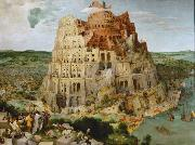 BRUEGEL, Pieter the Elder The Tower of Babel (mk08) oil painting picture wholesale