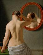 Christoffer Wilhelm Eckersberg Nude (Morning Toilette) (mk09) oil painting picture wholesale