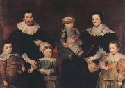 Cornelis de Vos The Family of the Artist (mk08) oil painting picture wholesale