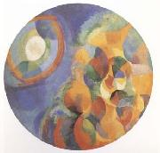 Delaunay, Robert Simulaneous Contrasts Sun and Moon (mk09) oil painting picture wholesale