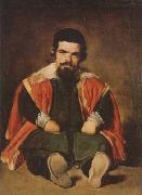 Diego Velazquez A Dwarf Sitting on the Floor (mk08) oil painting picture wholesale