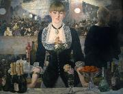 Edouard Manet A Bar at the Folies-Bergere (mk09) oil painting picture wholesale