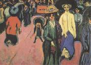 Ernst Ludwig Kirchner The Street (mk09) oil painting picture wholesale