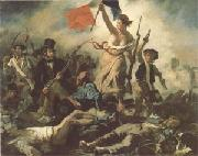 Eugene Delacroix Liberty Leading the People (mk05) oil painting picture wholesale
