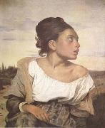 Eugene Delacroix Orphan Girl at the Cemetery (mk09) oil painting picture wholesale