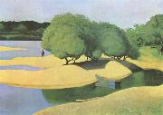 Felix  Vallotton Sandbanks on the Loire (mk09) oil painting picture wholesale