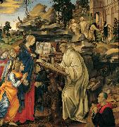 Filippino Lippi The Vision of St Bernard (mk080 oil painting picture wholesale