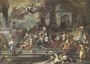Francesco Solimena Heliodorus Chased from the Temple (mk05) oil painting picture wholesale