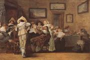 Frans Hals Merry Company (mk08) oil painting picture wholesale