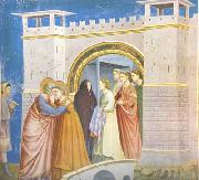 GIOTTO di Bondone Anna and Joachim Meet at the Golden Gate (mk08) oil painting picture wholesale