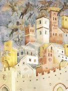 GIOTTO di Bondone The Devils Cast out of Arezzo (mk08) oil painting picture wholesale