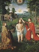 Gerard David The Baptism of Christ (mk08) oil painting reproduction