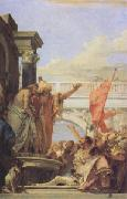 Giovanni Battista Tiepolo Presenting Christ to the People (Ecce Homo) (mk05) oil painting picture wholesale