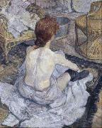 Henri  Toulouse-Lautrec The Toilette (mk09) oil painting picture wholesale