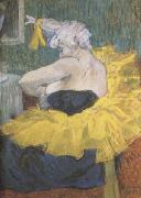 Henri de toulouse-lautrec The Clowness Cha-U-Kao (mk09) oil painting picture wholesale
