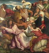 Jacopo Bassano The Procession to Calvary (mk08) oil painting artist