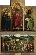 Jan Van Eyck Ghent Altar (mk08) oil painting picture wholesale