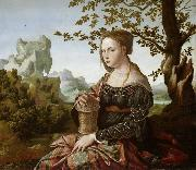 Jan van Scorel Mary Magdalene (mk08) oil painting picture wholesale