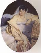 Jean Auguste Dominique Ingres Madame Riviere (mk05) oil painting picture wholesale