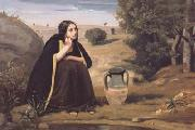 Jean Baptiste Camille  Corot Rebecca au puits (mk11) oil painting picture wholesale