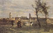 Jean Baptiste Camille  Corot Dunkerque (mk11) oil painting picture wholesale
