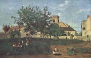 Jean Baptiste Camille  Corot Rosny-sur-Seine (mk11) oil painting picture wholesale