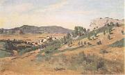 Jean Baptiste Camille  Corot Olevano Romano (mk11) oil painting picture wholesale