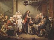 Jean Baptiste Greuze The Village Betrothal (mk05) oil painting picture wholesale
