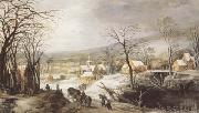 Joos de Momper Winter Landscape (mk08) oil painting picture wholesale
