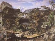 Joseph Anton Koch Seiss Landscape (Berner Oberland) (mk09) oil painting picture wholesale