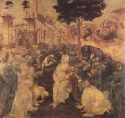 LEONARDO da Vinci Adoration of the Magi (mk08) oil painting picture wholesale