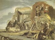 Louis Le Nain The Cart or the Return from Haymaking (mk05) oil painting picture wholesale