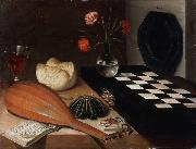 Lubin Baugin Still Life with Chessboard (mk08) oil painting picture wholesale