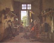 Martin  Drolling Interior of a Kitchen (mk05) oil painting picture wholesale
