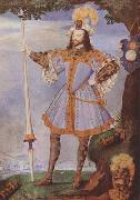 Nicholas Hilliard Portrait of George Clifford,Earl of Cumberland (mk08) oil painting artist