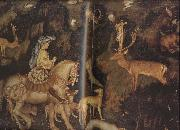 PISANELLO The Vision of St Eustace (mk08) oil painting picture wholesale