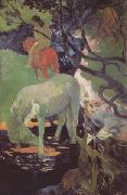 Paul Gauguin The White Horse (mk06) oil painting picture wholesale