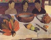 Paul Gauguin The Meal(The Bananas) (mk06) oil painting picture wholesale