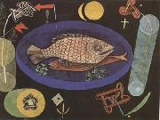 Paul Klee Around the Fish (mk09) oil painting picture wholesale