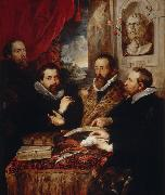 Peter Paul Rubens The Four Philosophers (mk08) oil painting picture wholesale