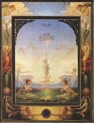 Philipp Otto Runge Morning (first version) (mk09) oil painting picture wholesale