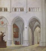 Pieter Jansz Saenredam Interior of the Church of St Bavon at Haarlem (mk05) oil