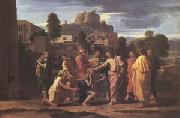 Poussin Christ Healing the Blind (mk05) oil painting picture wholesale
