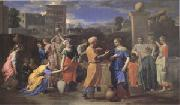 Poussin Eliezer and Rebecca (mk05) oil painting artist